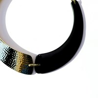 Bisjoux Tahiti Collar Black Wood