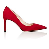Prada Women's Pointed Toe Pumps Burgundy