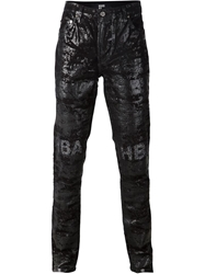 Hood By Air 'Erosion' Glitter Jeans