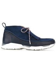 Carven 'Neo Derby' Sneakers Blue
