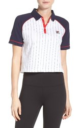 Fila Women's Carletta Crop Polo