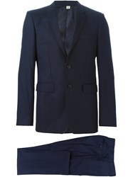 Burberry Formal Suit Blue