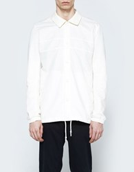 Adidas X Wings Horns Linen Coach Jacket Off White