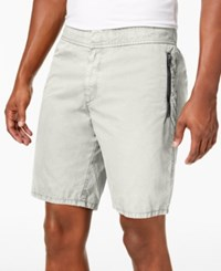 Dkny Zipper Shorts Natural