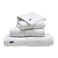 Ralph Lauren Home Player Towel White