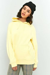 Bdg Soft Washed Hoodie Sweatshirt Yellow