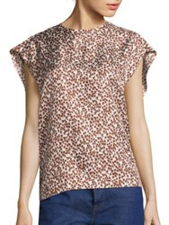 A Detacher Etta Printed Blouse Tree Print