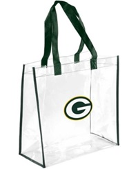 Forever Collectibles Green Bay Packers Clear Tote Bag