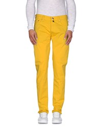 Pt05 Trousers Casual Trousers Men Yellow