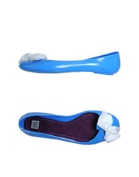 Colors Of California Ballet Flats Azure