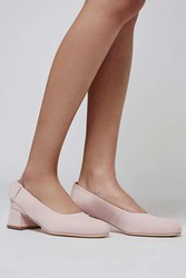 The Suede Court By Boutique Pale Pink
