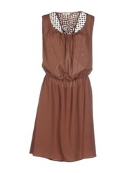 Kocca Dresses Short Dresses Women Brown
