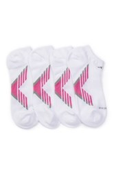 Adidas Climacool X Iii No Show Socks Pack Of 2 Women White