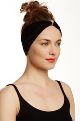 Leto Lace Headwrap Black