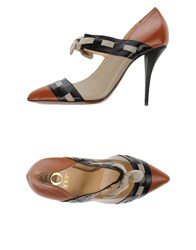 O Jour Footwear Courts Women Brown