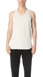 Reigning Champ Scalloped Tank Dust
