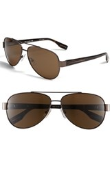 Boss Men's Polarized Aviator Sunglasses