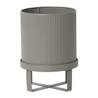 Ferm Living Bau Outdoor Plant Pot Warm Grey