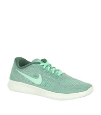 Nike Free Rn Running Shoes Male Mint