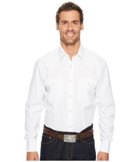 Lucchese El Paso White Long Sleeve Button Up