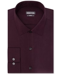 Kenneth Cole Reaction Slim Fit Performance Dobby Solid Dress Shirt