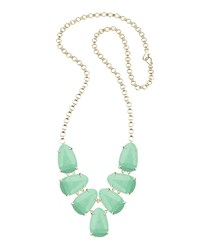 Kendra Scott Harlie Statement Necklace Mint Magne