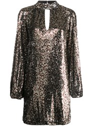 Milly Sequinned Leopard Print Dress 60