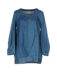 Heimstone Denim Shirts Blue