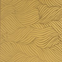 Flavor Paper Sheba Wallpaper Sample Swatch Gold On Copper Mylar Sample
