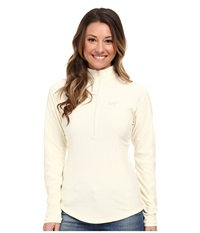 Arc'teryx Delta Lt Zip Vintage Ivory Women's Long Sleeve Pullover White