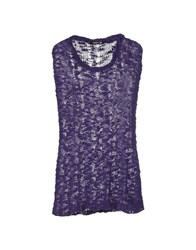 Cristinaeffe Collection Sweaters Purple