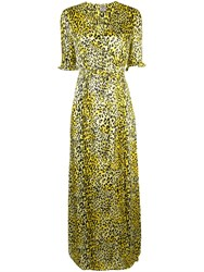 Baum Und Pferdgarten Adelita Wrap Dress Yellow