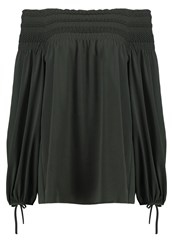 Escada Nulena Tunic Fir Black Dark Green