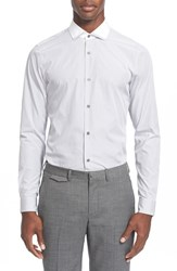 Men's Z Zegna Extra Trim Fit Tipped Collar Shirt