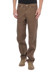 Brooksfield Trousers Casual Trousers Men Cocoa