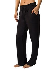 Jockey Relaxed Fit Solid Pants Black