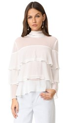 Endless Rose High Neck Top Ivory