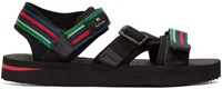 Paul Smith Ps By Black Stripe Formosa Cycle Sandals