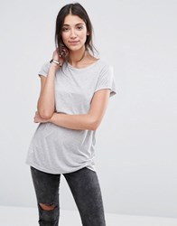 Selected Staple T Shirt Grey