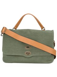 Zanellato Postina Medium Tote Green