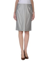 Akris Skirts Knee Length Skirts Women Light Grey