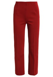 Patrizia Pepe Trousers Rost Brown
