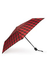 Shedrain Windpro Auto Open And Close Umbrella Red Timber