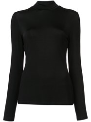 Givenchy Knitted Sweater Women Viscose Spandex Elastane 36 Black