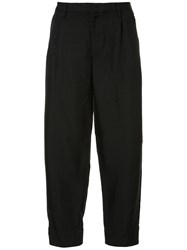 Kolor Relaxed Fit Tailored Trousers Black