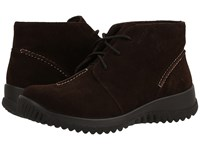 Drew Shoe Krista Brown Suede Women's Lace Up Casual Shoes