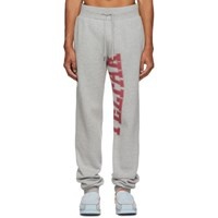 Telfar Grey Logo Lounge Pants