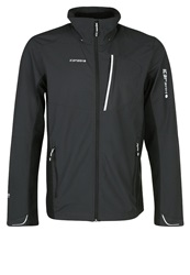 Icepeak Varius Soft Shell Jacket Grau Schwarz Dark Gray