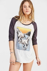 Project Social T Wild Horse Tee Grey