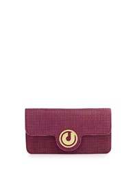 Charles Jourdan Nesta Flap Top Shoulder Bag Fuchsia